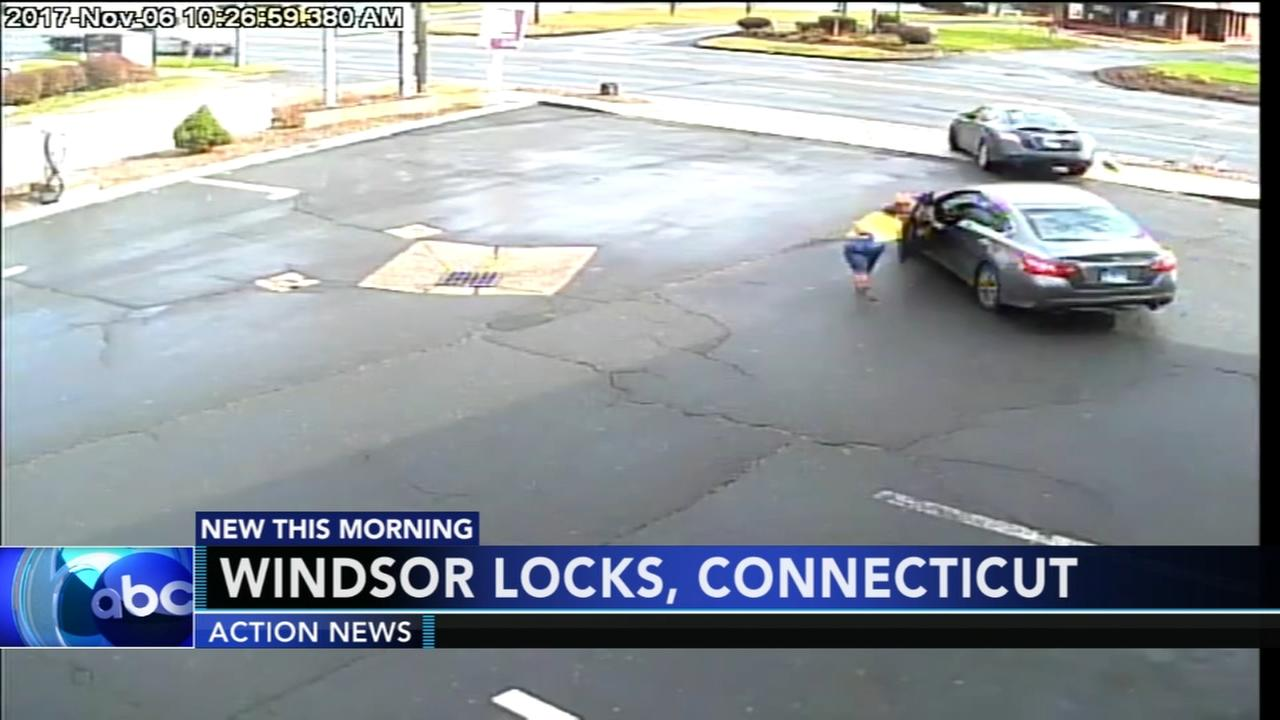 Woman tries to stop carjacking