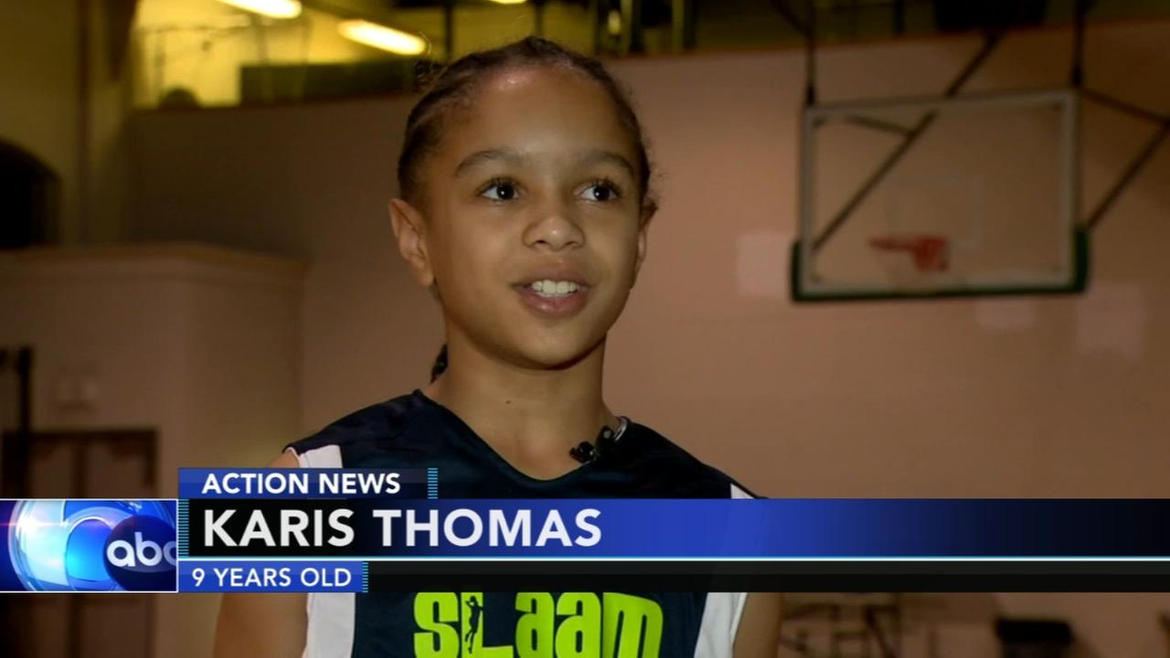 9-year-old basketball star