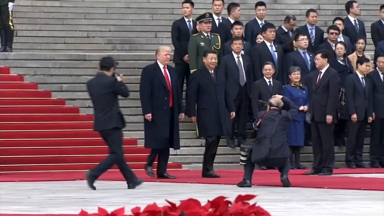 Trump, Xi present united front despite differences