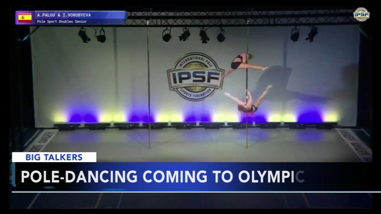 Pole dancing one step closer to becoming an Olympic sport