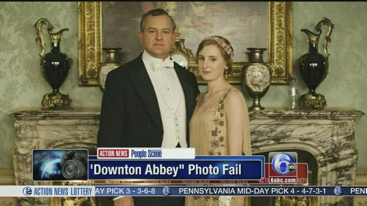 VIDEO: Downton Abbey photo fail