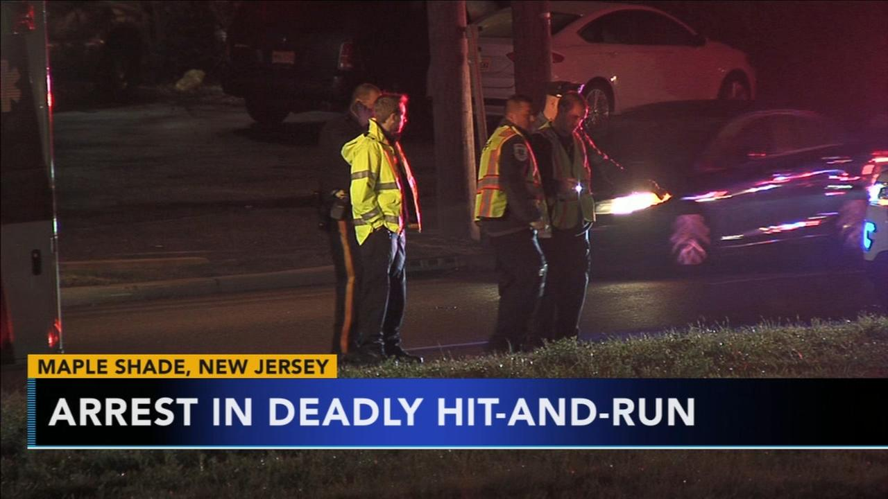 1 dead, 1 arrest in Maple Shade, N.J. hit-and-run
