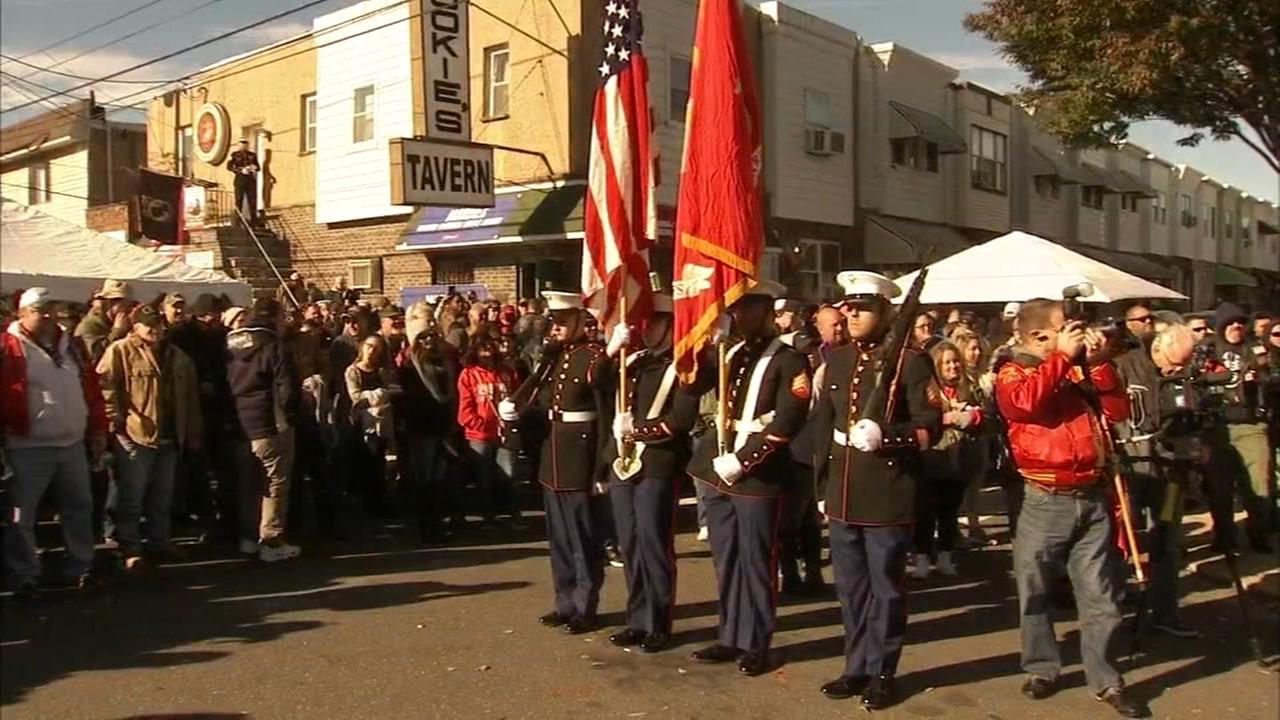 VIDEO: Marines birthday celebrates at South Philadelphia tavern