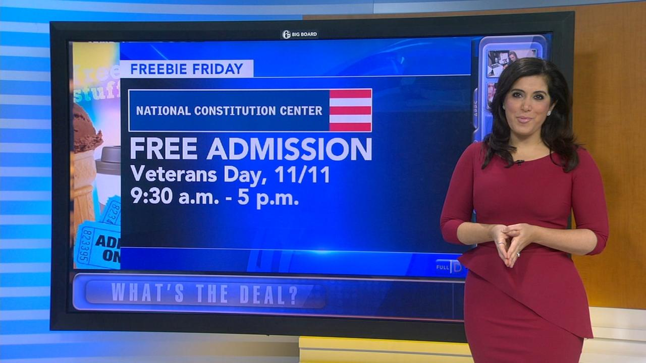 Freebie Friday: Veterans Day deals and free meals