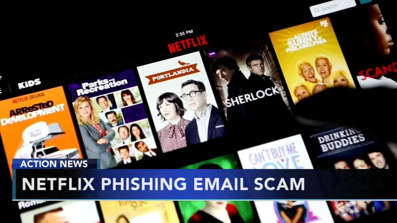 Netflix warns customers about phishing email scam