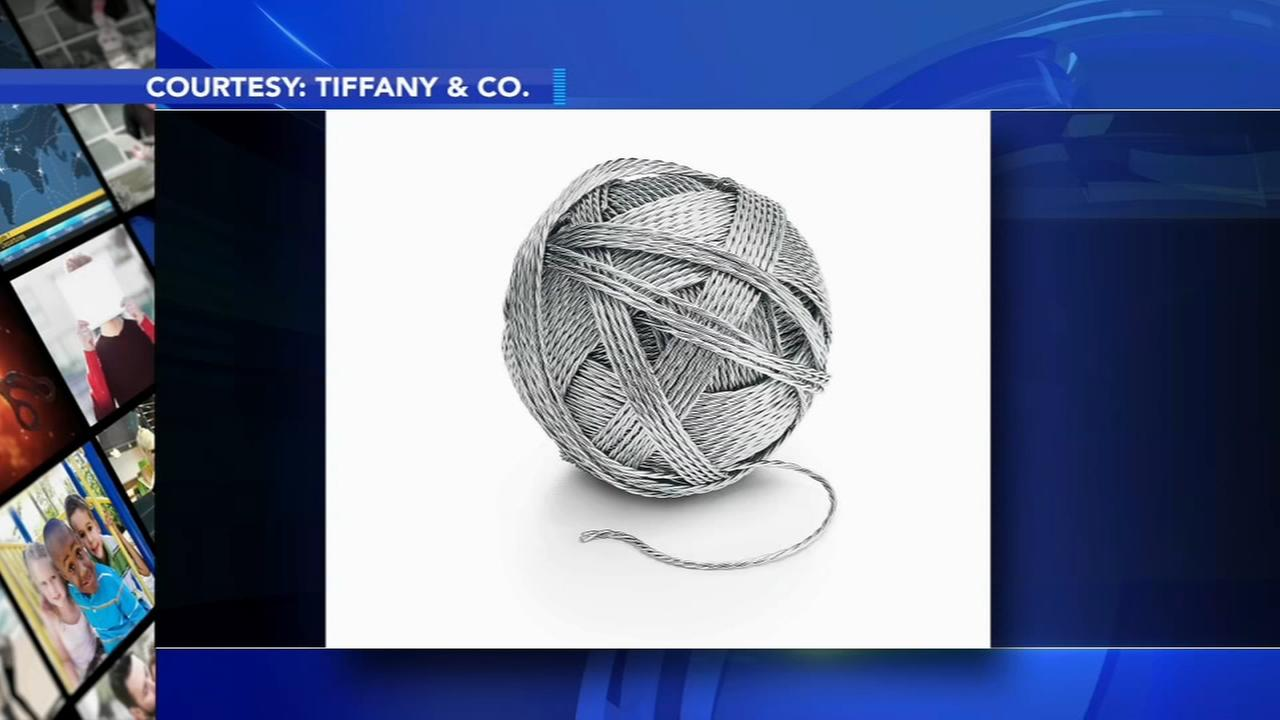 Tiffanys Everyday Objects collection includes $9K ball of yarn