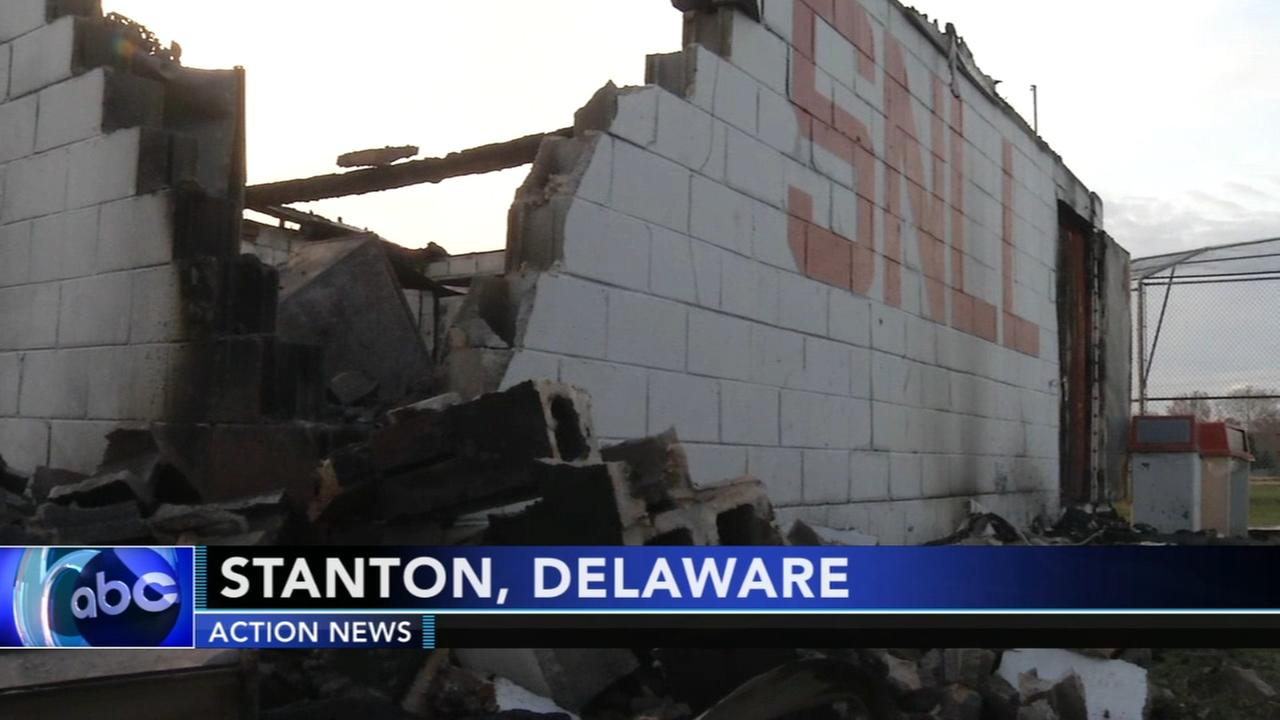 Fire destroys Little League concession stand in Wilmington