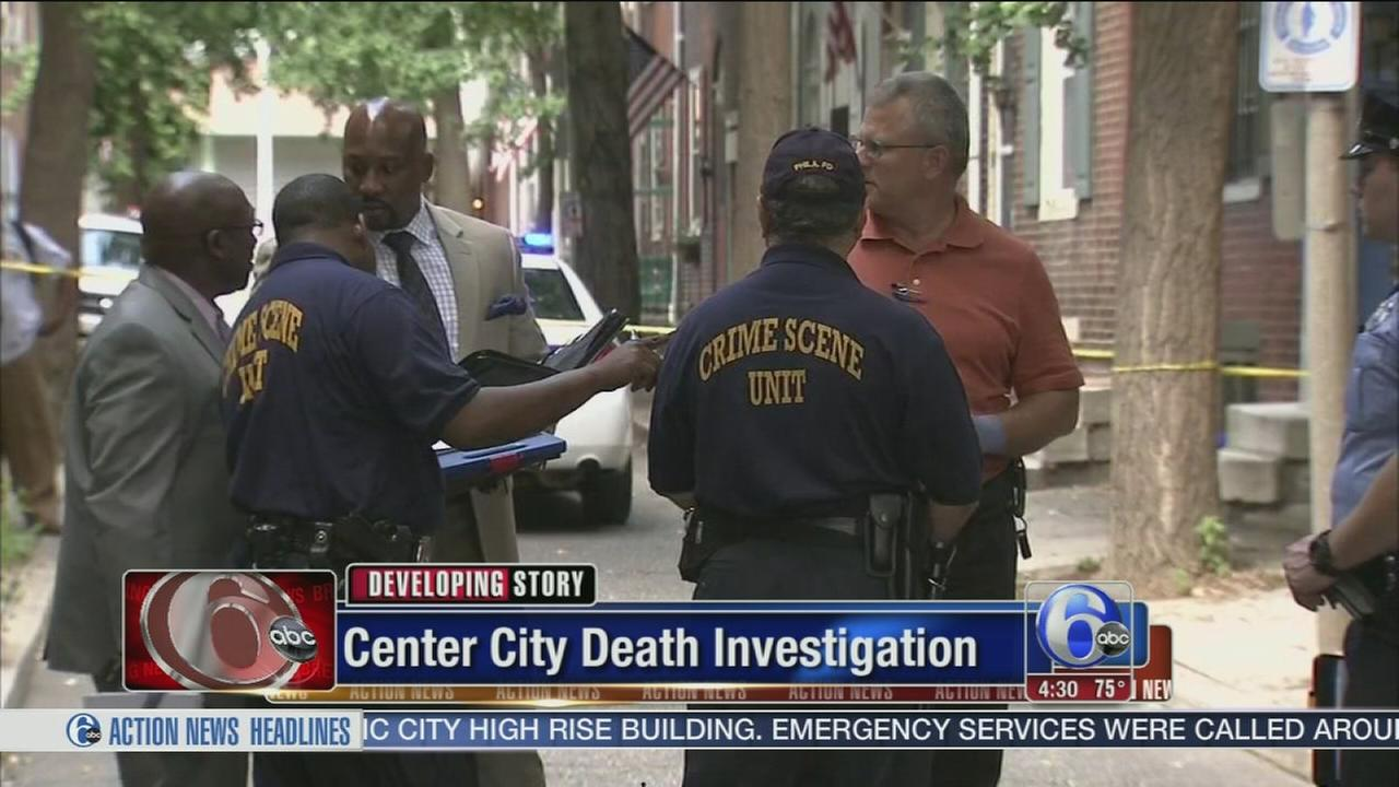VIDEO: Body found in Center City; death called suspicious