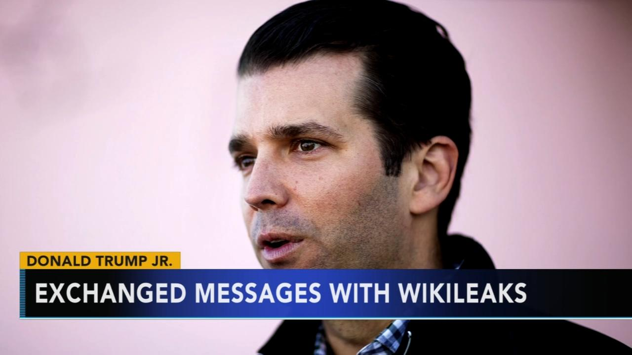 ABC News: Trump Jr. exchanged messages with Wikileaks