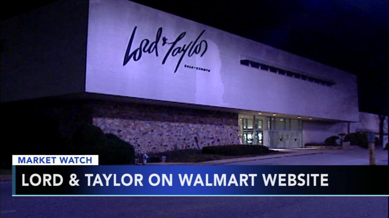Lord and Taylor available on Walmart website