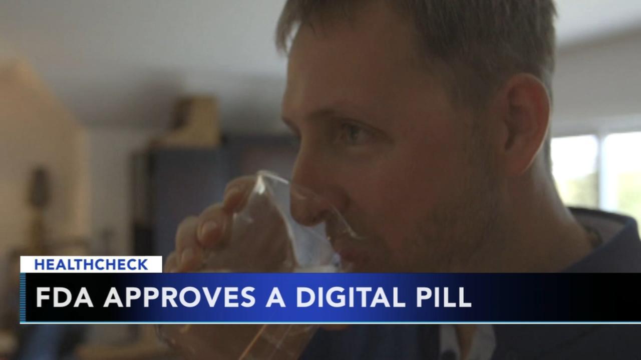 FDA approves digital pill