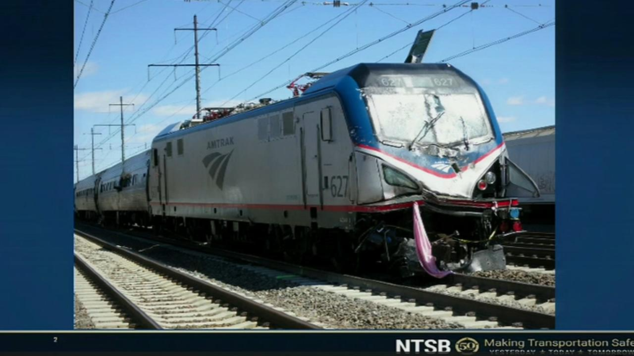 NTSB: Amtraks lax safety culture led fatal Chester crash