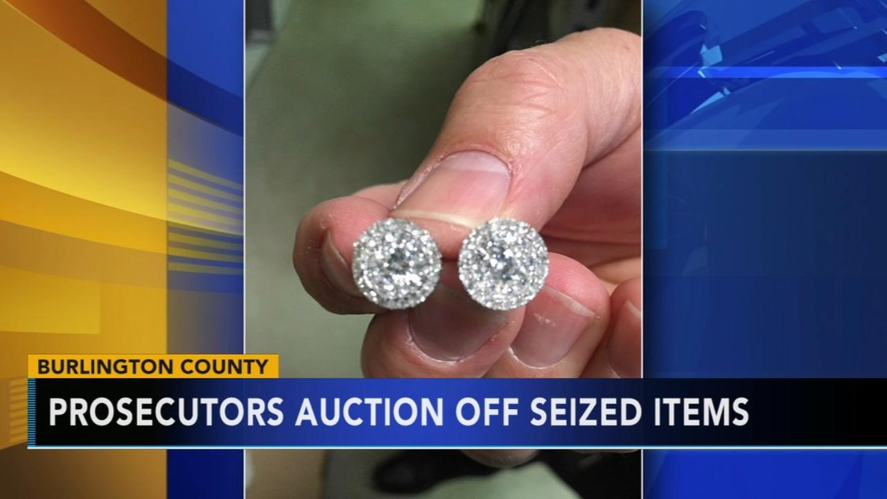 Burlington Co.Prosecutors ofc. auctions off seized items
