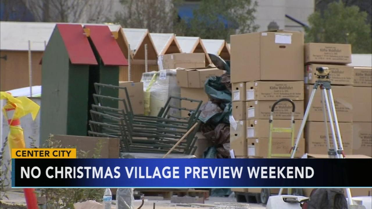 Preview weekend for Phillys Christmas Village cancelled