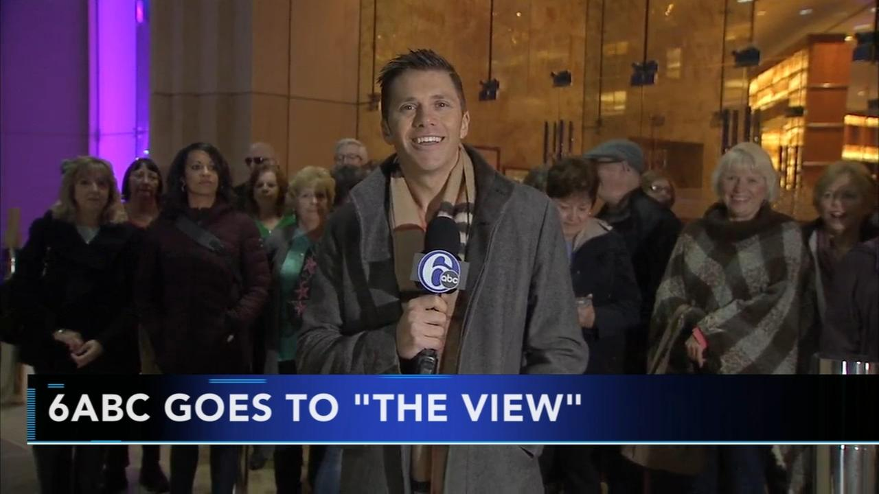 6abc goes to The View