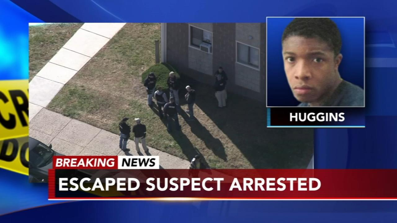 Escaped teen murder suspect captured in Atlantic City