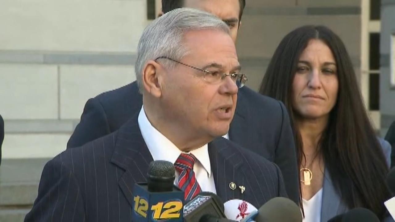 Judge declares mistrial in Menendez corruption case