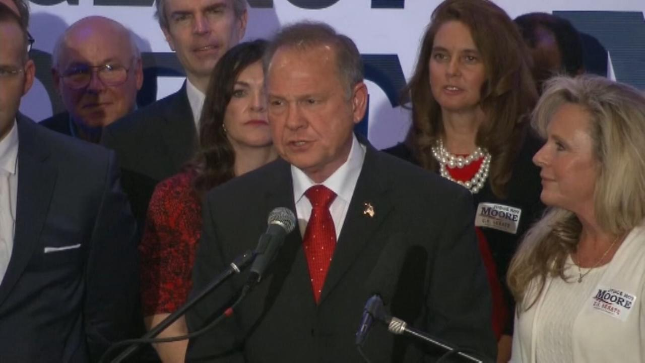 Alabama Republican Party says it stands by Moore