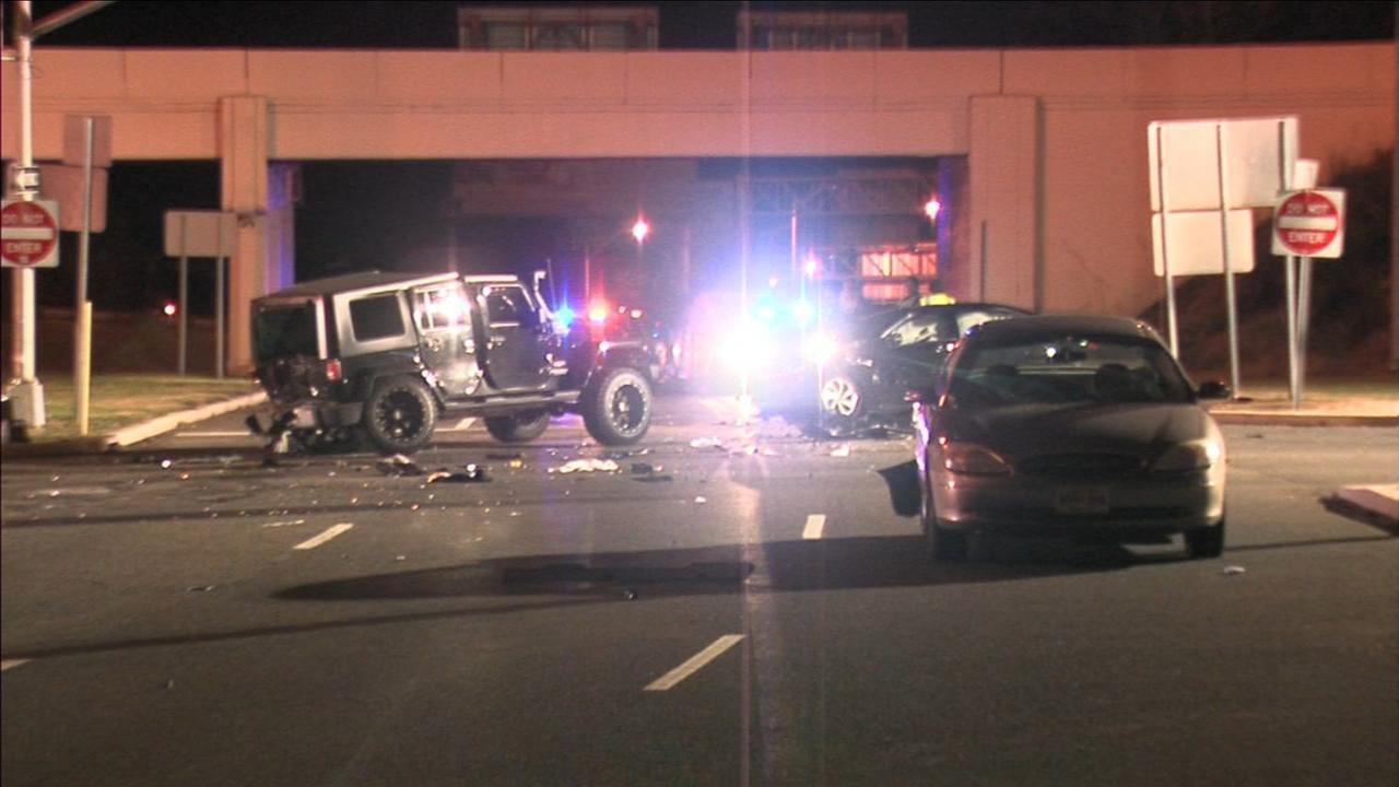 Deadly crash in Pennsauken