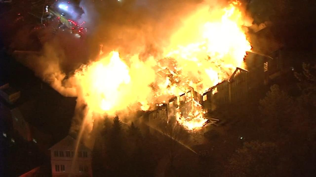 West Chester senior home blaze under investigation