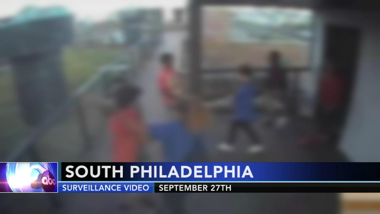 Kids caught vandalizing buildings in South Philadelphia