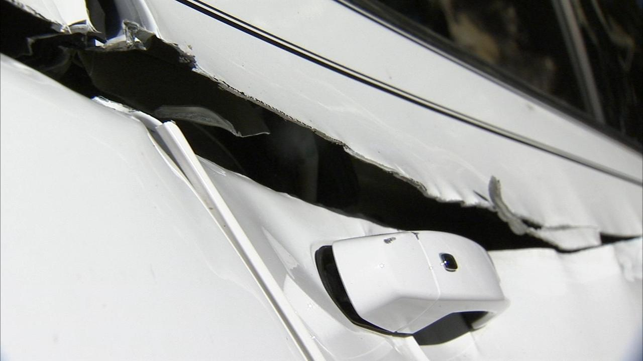 Troubleshooters:  Sheet metal slices womans car
