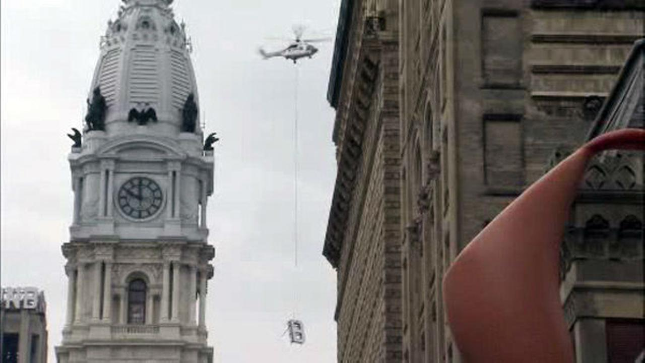 PHOTOS: Helicopter removes PNB from Philly skyline