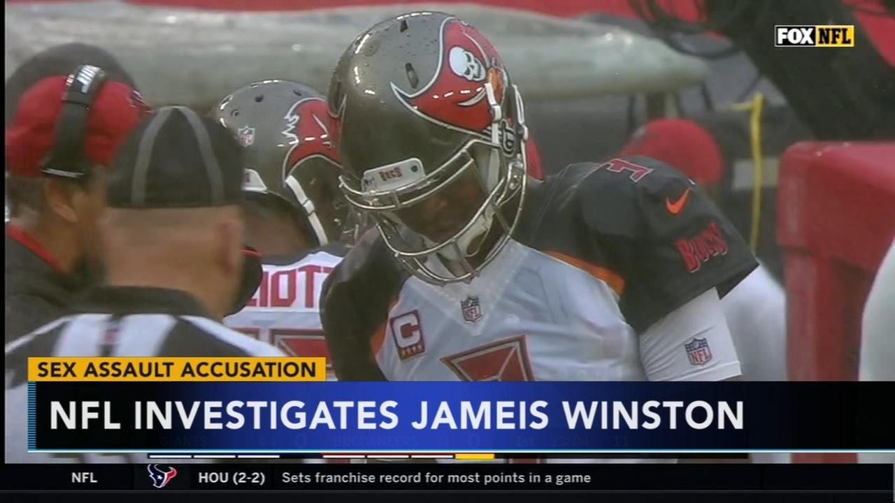 NFL investigates Jameis Winston on sexual assault allegations