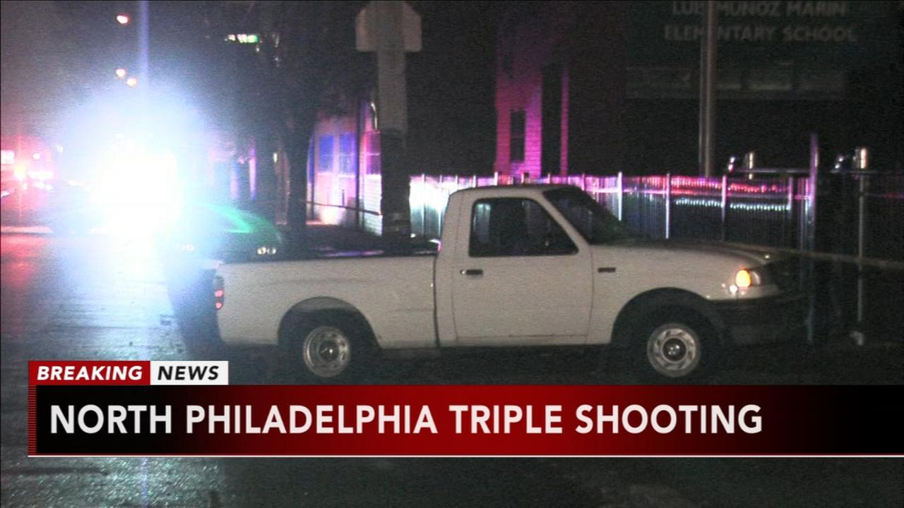 Triple shooting in North Philadelphia