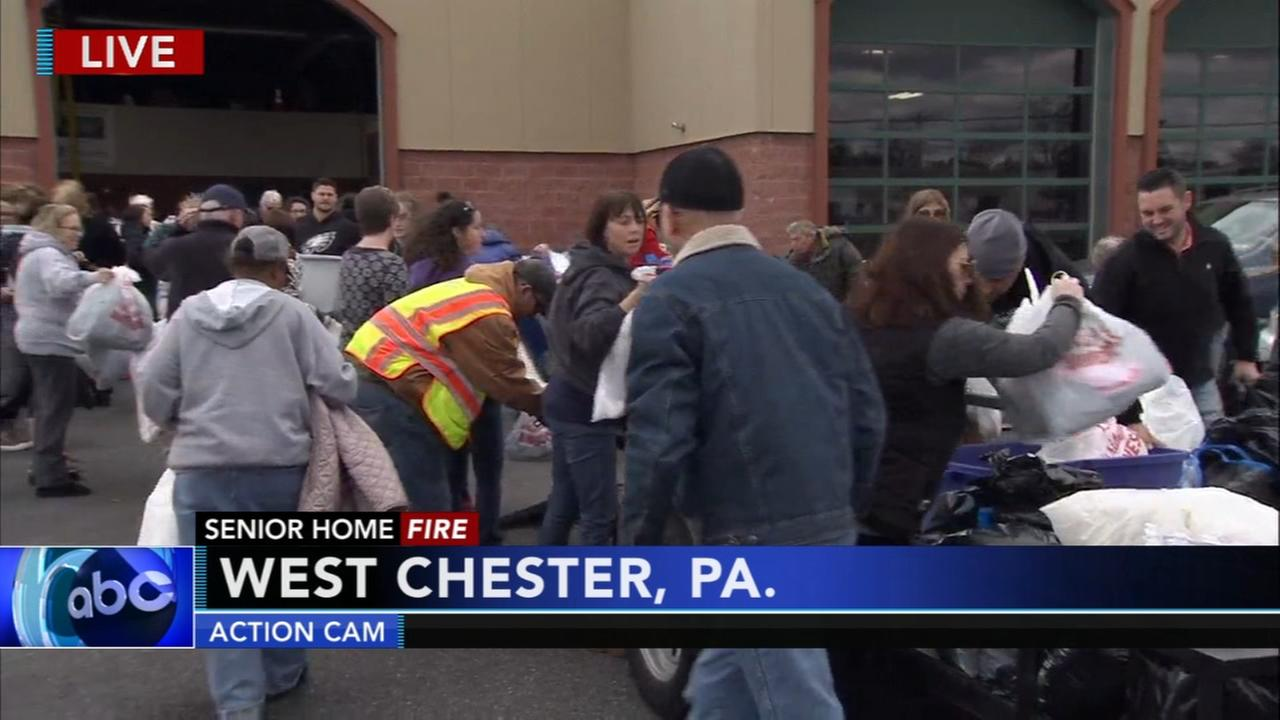 Donations pour in for West Chester fire victims