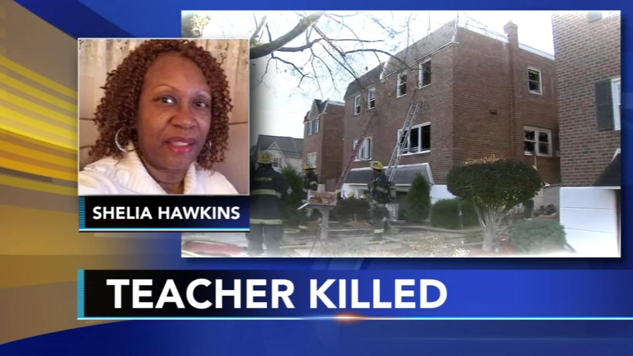 Teacher killed in Roxborough fire