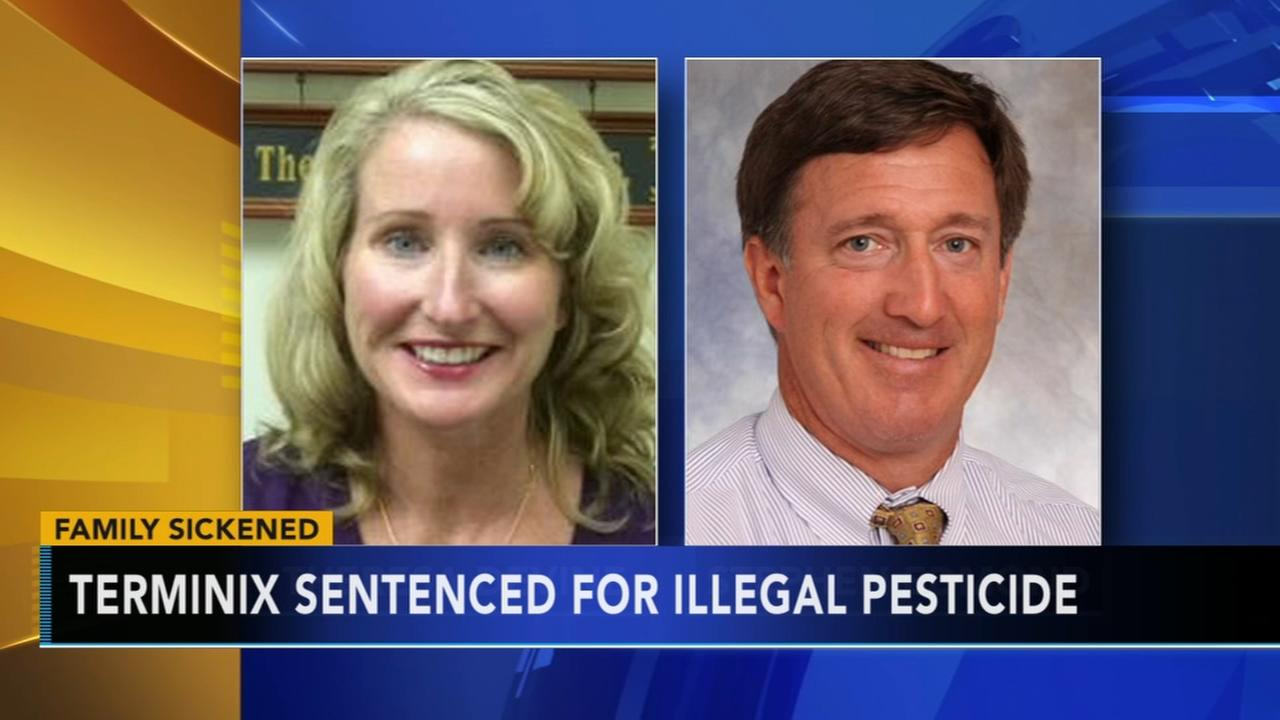 VIDEO: VIDEO: Terminex sentenced for illegal spraying pesticide
