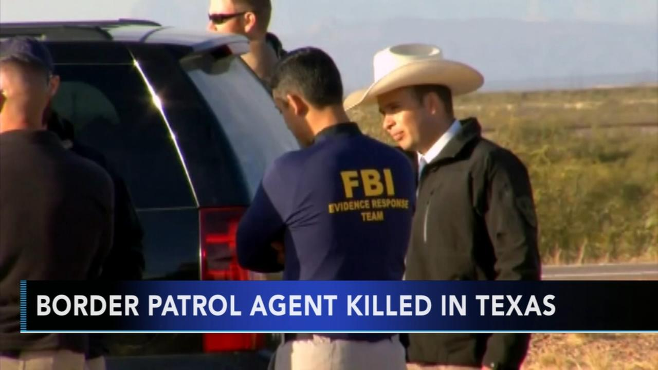 VIDEO: Border patrol agent killed in Texas