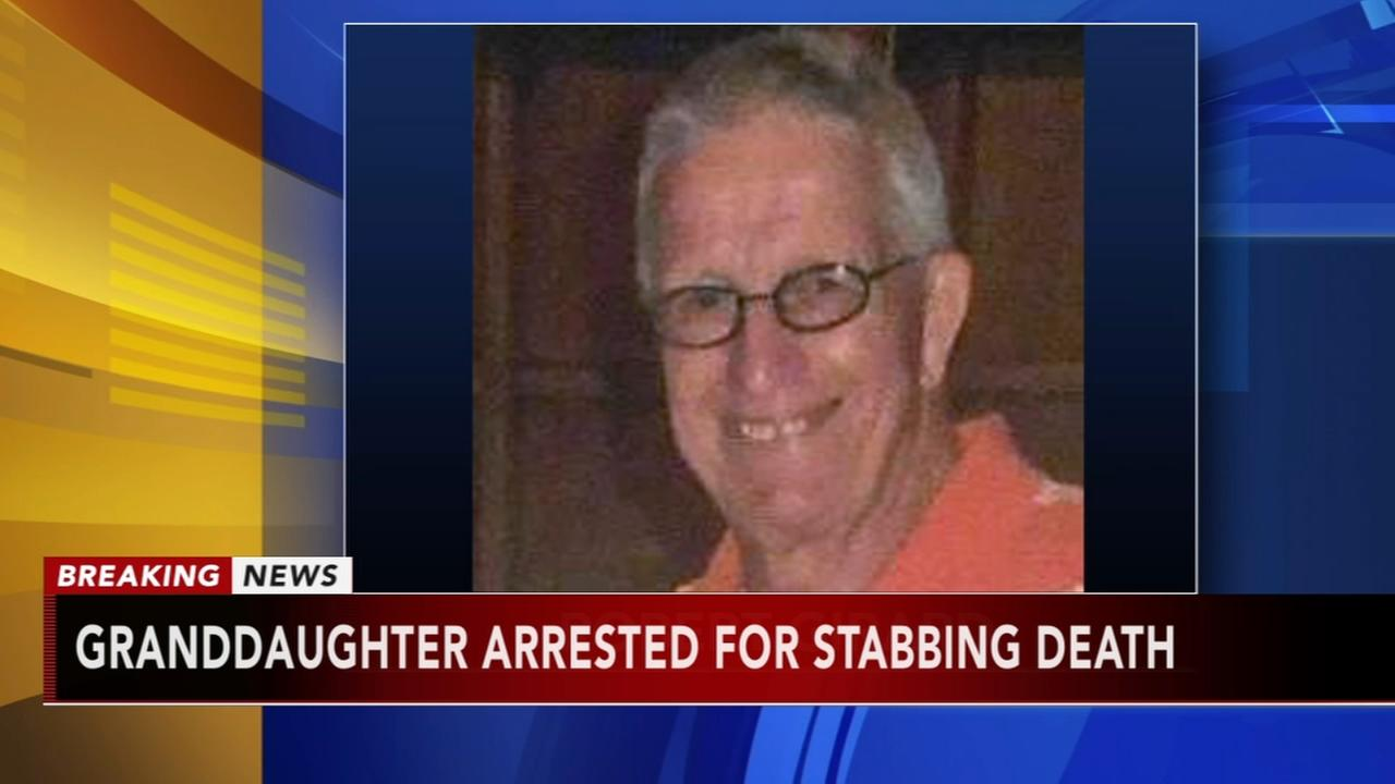 Granddaughter arrested for stabbing death