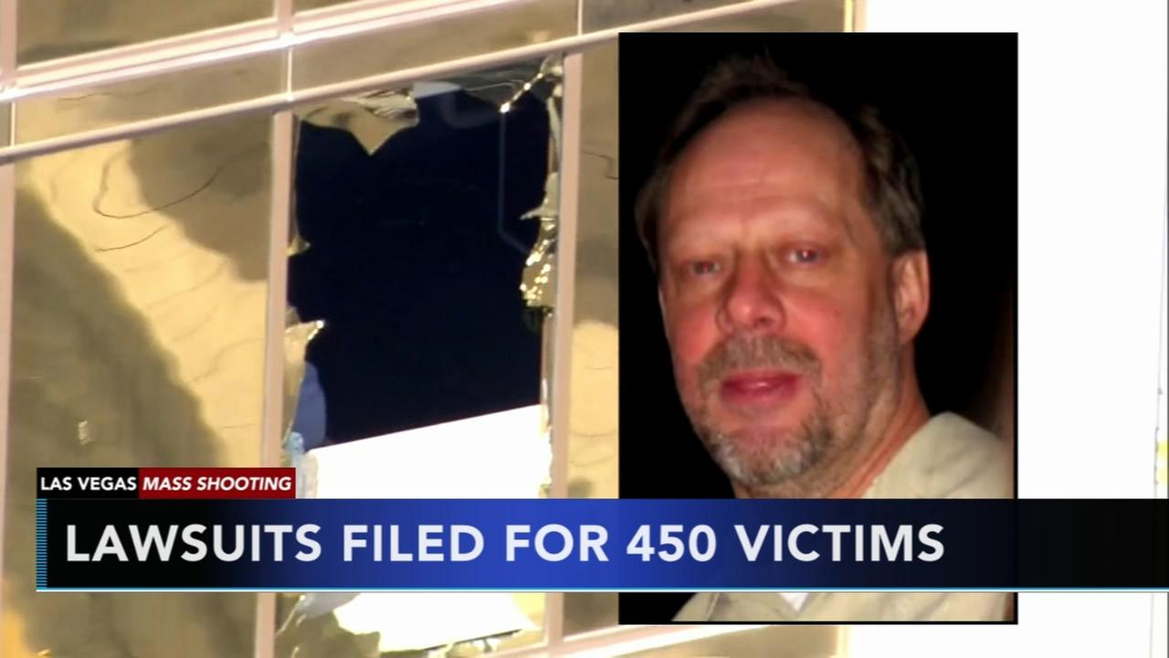 Lawsuit filed on behalf of Vegas shooting victims