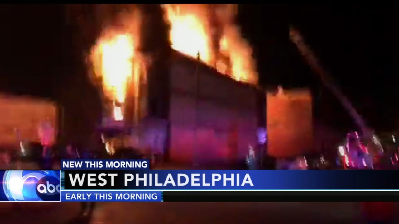 Fire damages storefront, apartments in West Philly