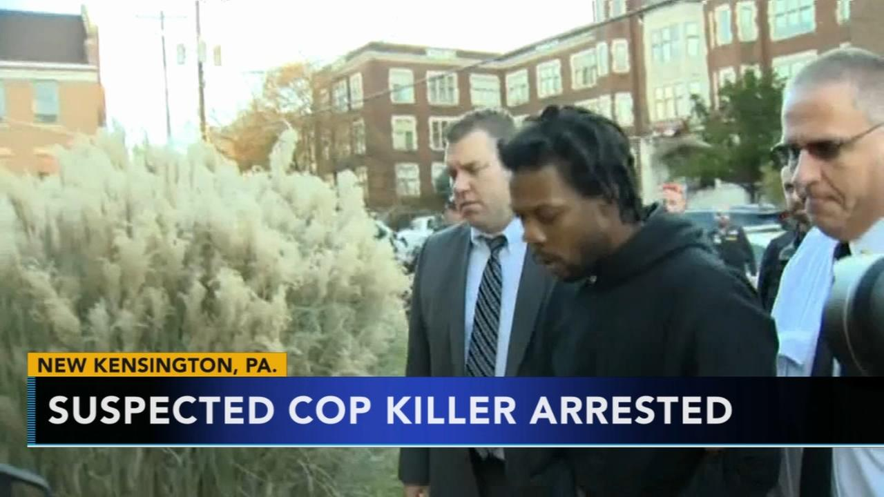 Suspected cop killer arrested