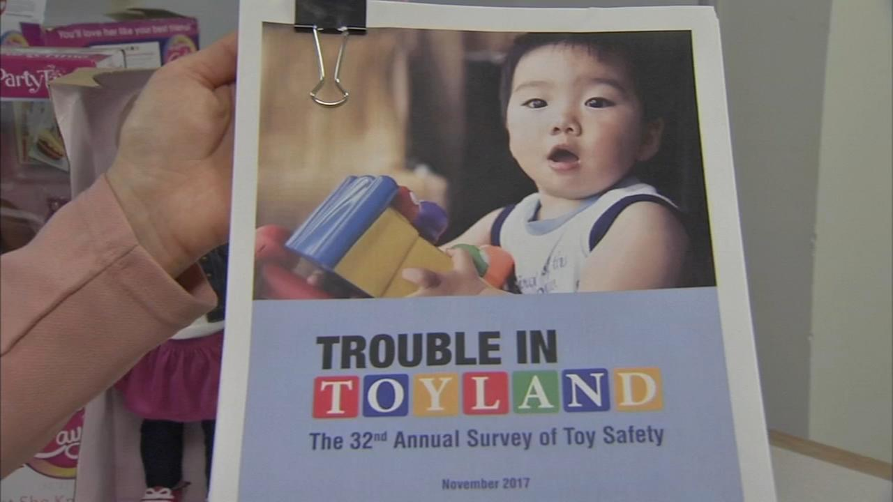 PennPIRG releases Trouble in Toyland report