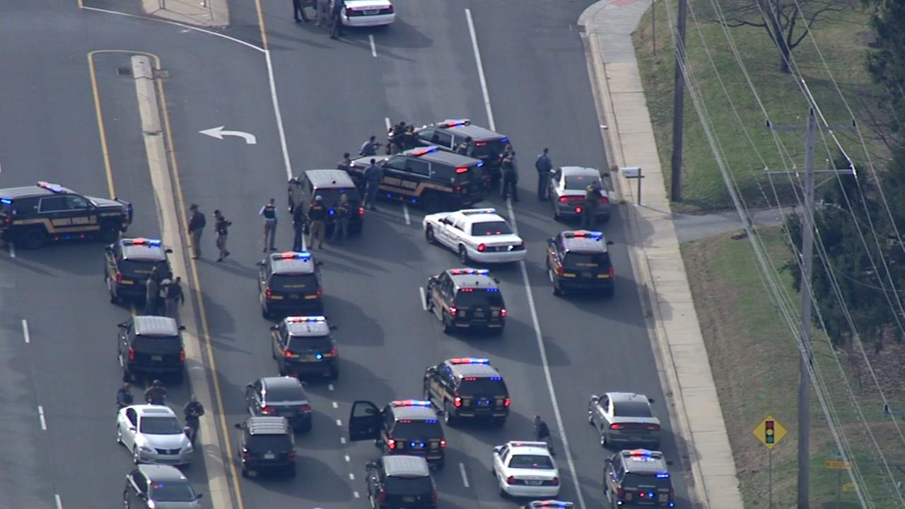 RAW VIDEO: Shots fired at police in Delaware
