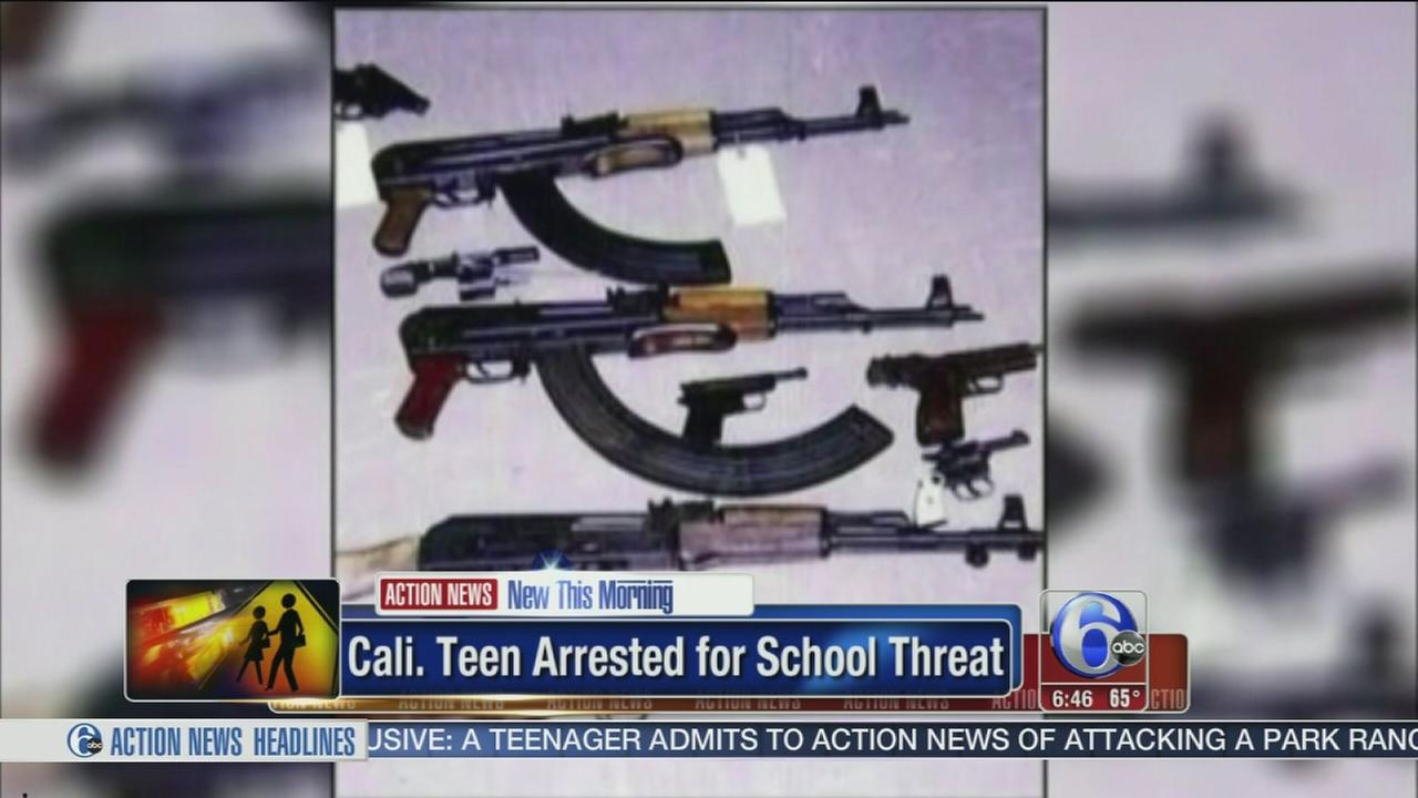 VIDEO: Teen arrested for school threat