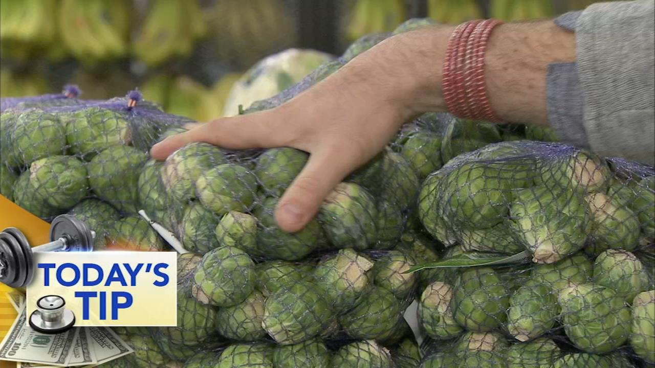 Brussels sprouts for turkey day - Todays Tip