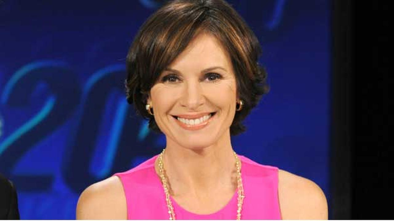 This Feb. 1, 2013 photo released by ABC shows co-anchor Elizabeth Vargas on the set of 20/20, in New York.