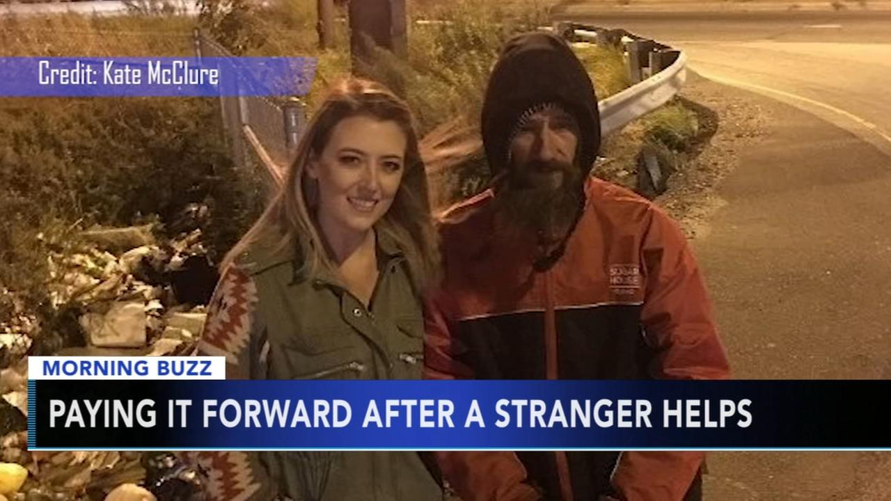 VIDEO: Paying it forward after a stranger helps