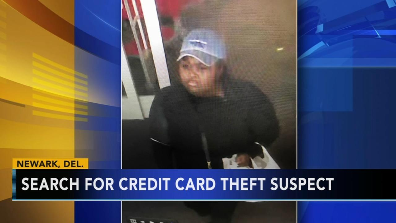 Police search for stolen credit cards suspect