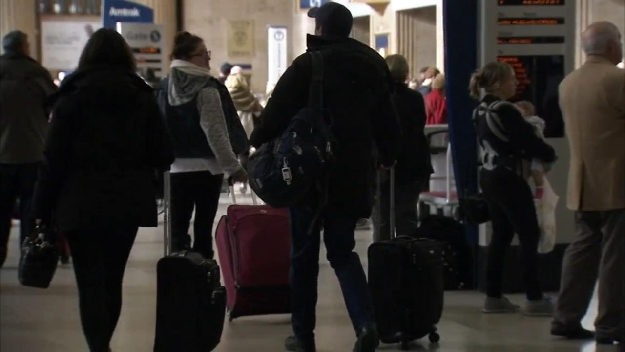 Holiday travel heats up locally