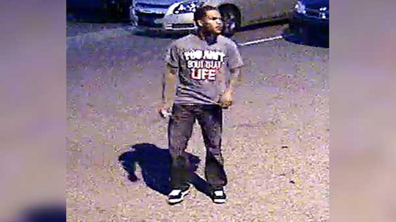 Police are looking to identify the suspect wanted for homicide at Philadelphias Dell Music Center.
