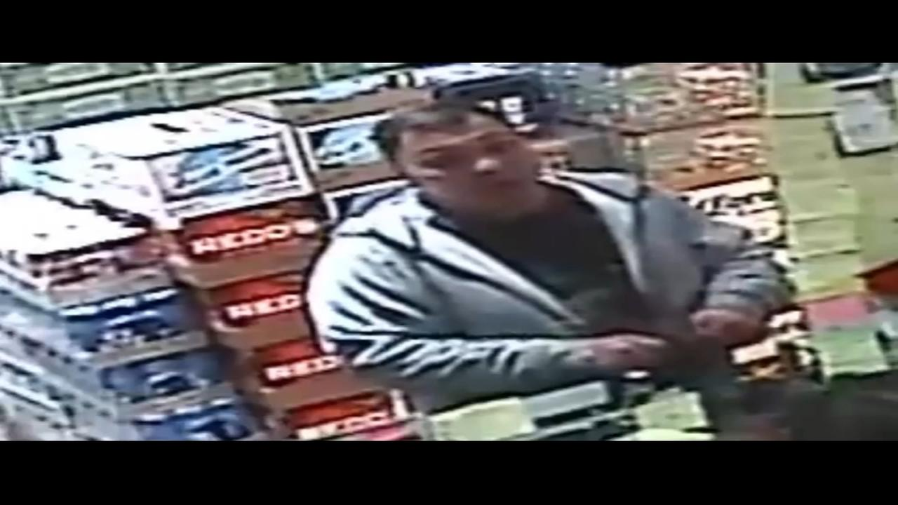 RAW VIDEO: Donation jar theft