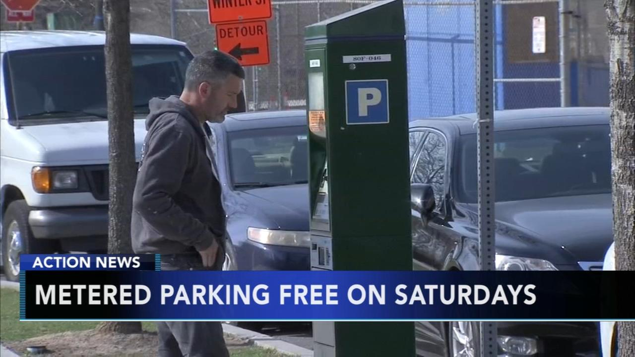 City offers free meter parking on Saturdays for the holiday season
