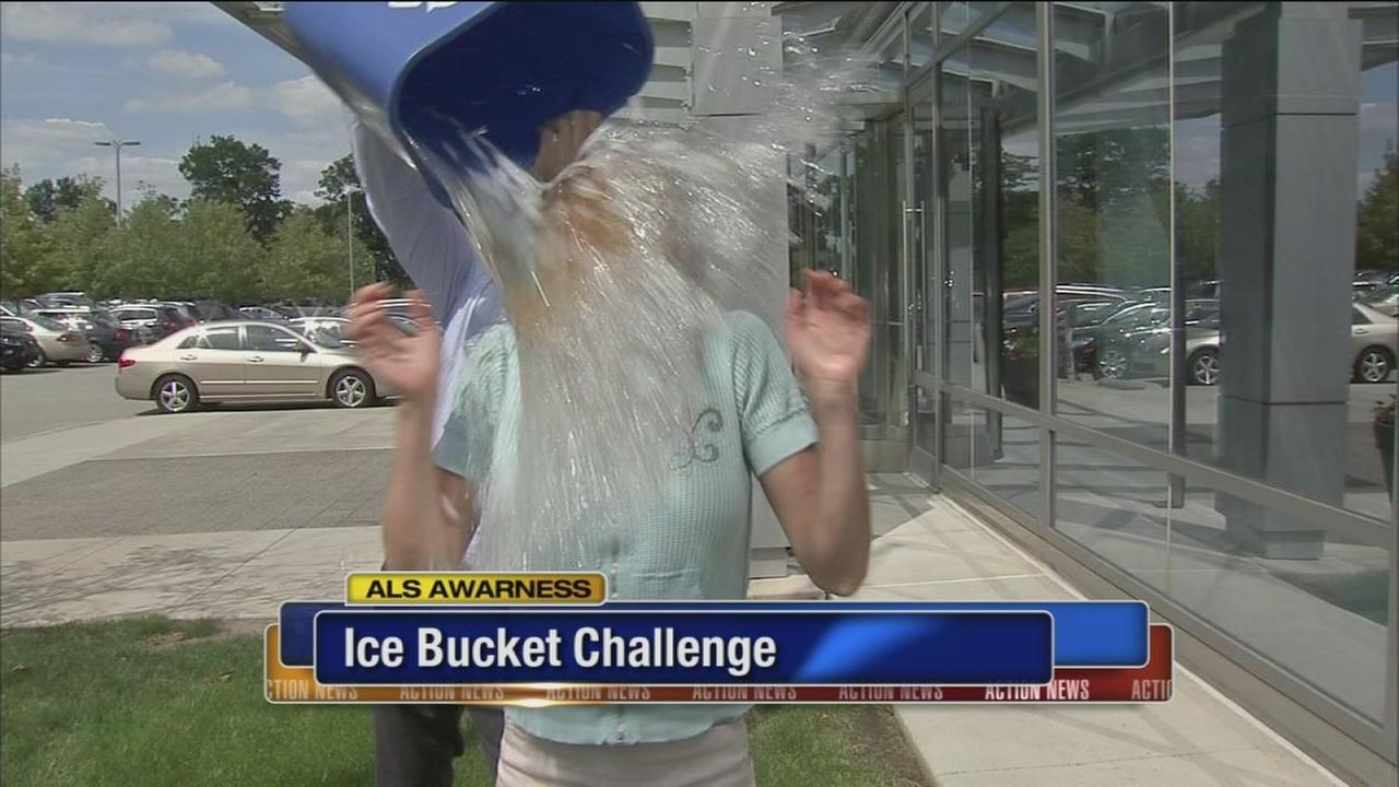 VIDEO: Cecily takes the Ice Bucket Challenge