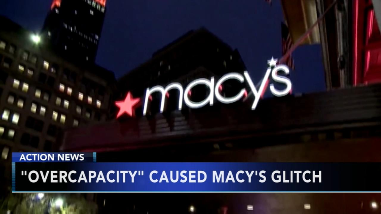 Macys credit card glitch caused by overcapacity on Black Friday